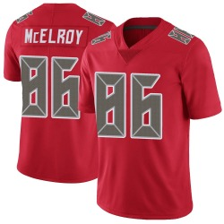 Codey McElroy Tampa Bay Buccaneers Youth Limited Color Rush Nike Jersey - Red